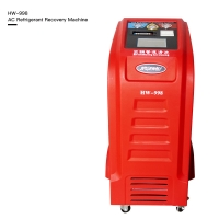 Best Colorful LCD Display AC Refrigerant Recovery Machine With Database wholesale