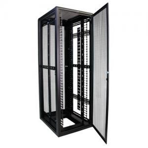 Best 37RMU Full Server Rack , Field Reversible Door Hinges Locking Server Cabinet wholesale
