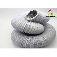 Best Expandable Round Flexible Duct PVC Aluminum For Air Conditioning System wholesale