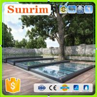 Best Clear polycarbonate low line telescopic solar swimming pool cover wholesale