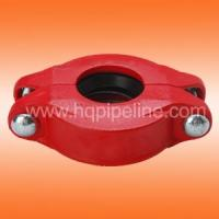 China UL/FM Ductile iron grooved coupling on sale