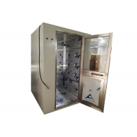 Best CE Electronical Interlock Cleanroom Air Shower Stainless Steel 304 wholesale
