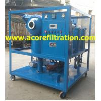 Best Mobile Trailer Vacuum Transformer Oil Purification Dehydration Machine wholesale