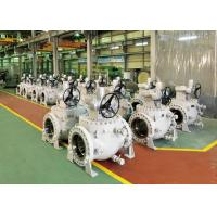 Best Worm Gear Operation Top Entry Flanged Ball Valve With Easy Maintenance wholesale