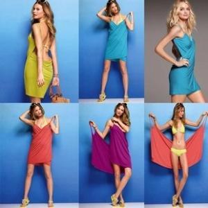 Best Women one piece swimsuites Magic Swimwear bath towel Summer Beach Dress Bathrobe wholesale