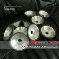 China resin diamond grinding wheels for ceramic materials Cocoa@moresuperhard.com on sale