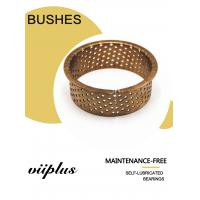Buy cheap Cylindrical Bushes Grease Reservoirs Bronze Sleeve Plain Bearings Cusn8 Oil from wholesalers
