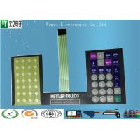 Best Round Key FPC Membrane Switch , Push Button FPC Membrane Switch For Electronic Scale wholesale