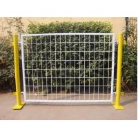 Best Plastic Coated Temporary Welded Wire Mesh Fence Panels 50*100 MM Mesh Size wholesale