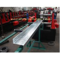 Best C / Z Shape Automatic Changable Purlin Roll Forming Machine Hydraulic Punching Hole for European Customer wholesale