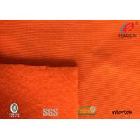 China European Standard Safety Orange Fabric High Visibility Material Fabric Anti Mildew on sale