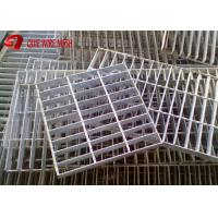 Cheap Flooring Hot Dip Serrated Galvanized Steel Grating Stair Tread Long Life for sale