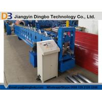 Best PLC Control PPGI Steel Sheet Rain Gutter Roll Forming Machine With 0.3-0.8mm Thickness wholesale