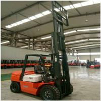 Best 3 Ton Diesel Forklift Truck FD30 Engine Powered With 1070mm Fork Length wholesale