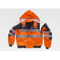 China High Visibility Safety Work Clothes with Big side patch pockets Anti Shrink on sale