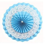 Best Multilayer Paper Fan Backdrop Round Folding Fans Hanging wholesale