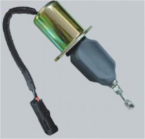5.9L Diesel Engine Fuel Shut Off Solenoid , Universal Fuel Shut Off Solenoid