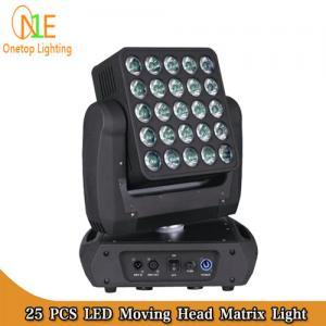 China Osram LED stage light 25x15w rgbw 4 in 1 beam wash matrix led moving head light on sale