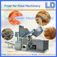 Best Automatic Fryer machinery for snacks food wholesale