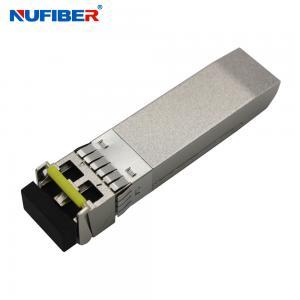 Best 10km 10gbe Sfp+ Transceiver Module Single Mode Duplex LC Connector wholesale