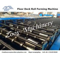 Best 5 Tons Decoiler Metal Roll Forming Machine 20 Main Power For Floor Sheet wholesale