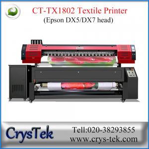 China CT-TX1802 textile printer, flag printer, sublimation printer, heat transfer printing machine in Guangzhou on sale