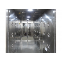 Best Automatic Induction 30m/Sec Cleanroom Air Shower Stainless Steel wholesale