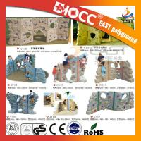 Best Outdoor Rock Plastic Climbing Wall Steel Pipe Structure PVC Coated Deck wholesale