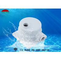 Buy cheap White Color Swimming Pool Light Electrical Box 16mm - 18mm Hole Position from wholesalers