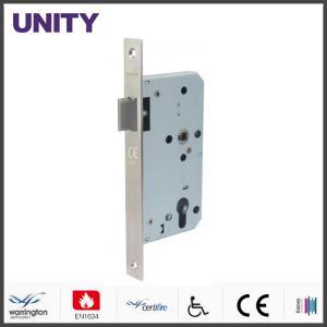 China Certifire Stainless Steel Mortice Door Lock for Fire Door Latch Passage EN1634 Fire Tested EN12209 and CE Marking on sale