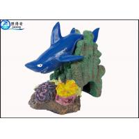 Buy cheap Blue Little Shark Personalised Large Fish Tank Ornaments Decorations with from wholesalers