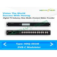 Buy cheap Cable MMDS ASI CATV Digital QAM RF Modulator 180 PIDS Remapping Per Channel product