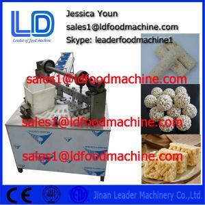 Best Big Capacity Automatic Healthy Puffed Roasted Barley Granola Bar Machine wholesale