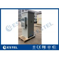 China One Front Door Outdoor Telecom Cabinet 1 Compartment Single Wall Heat Insulation on sale