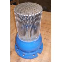 China Ductile Iron Foot Valve With Stainless Steel Filter Strainer Single Flange Lift Type on sale