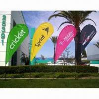 Best Flying Flag Banner Display with Single/Double Sides and Up to 1.8m Width wholesale