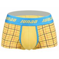 Best High Stretch Short Trunks Underwear , Low Rise Male Boxers Underwear wholesale