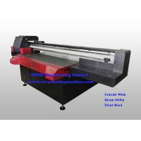 Best Digital Uv Flatbed Printing Machine , Wide Format Flatbed Printer High Speed wholesale