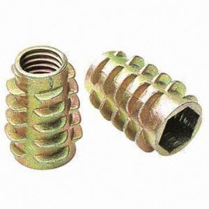 China Zinc-plated Zinc Alloy Bolt Nuts, M10 x 25 on sale