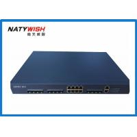 China 8 Ports EPON OLT Optical Line Terminal , OLT Network Products For Monitoring Solution on sale