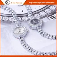 YQ01 Watches Woman Bracelet Watch Full Diamond Rhinestone Watches for Lady Quartz Watch