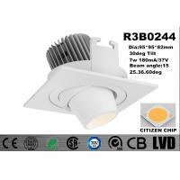 China New Module 7w Recessed 2700-3000K Adjustable Aluminum White Dim IP20 LED Downlights on sale