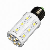 Best 3W LED Corn Lamp with 24 Pieces of 5050 SMD LEDs, High-luminous Flux wholesale