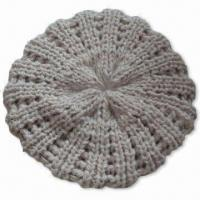 Best Fashionable Knitted Hat, Made of 100% Acrylic, Suitable for Women wholesale
