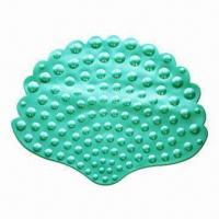 Best Bath Mat in Conch Shape, Made of PVC wholesale