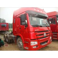 Sinotruk howo 6x4 prime mover LHD or RHD 10 wheels tractor / prime mover truck 371hp