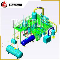 Buy cheap Used Car Oil Distillation Refinery Machine / Waste Engine Oil Recycling from wholesalers