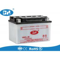 Buy cheap Scooter Lead Acid Motorcycle Battery 148 * 88 * 92mm Long Service Life from wholesalers