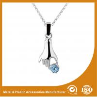 China 40mm Zinc Alloy Metal Chain Necklace & Pendant Nickel Roller Plating on sale