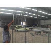 China Temporary Hot Dipped Galvanised Weld Wire Mesh Storage Cages With 4 Panels on sale
